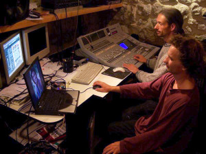 mixage au studio Muance avec Mathias Autexier